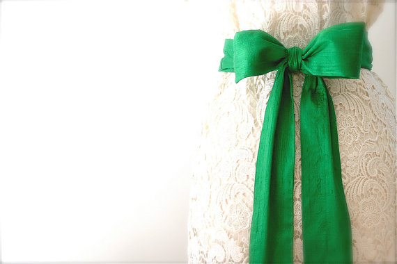 handmade dress sashes