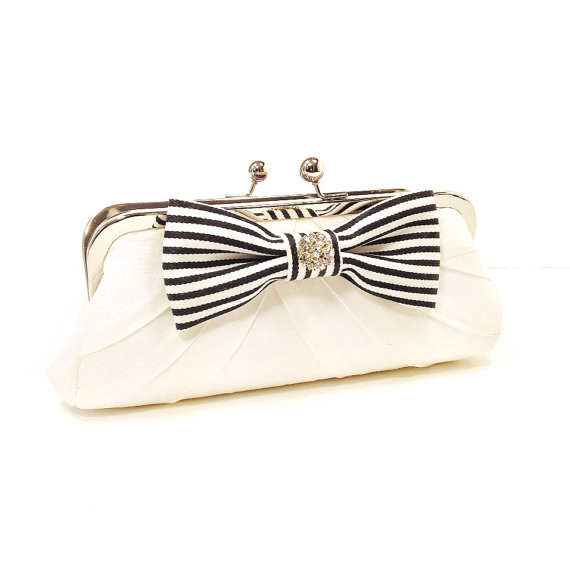 bridal clutch bags - nautical