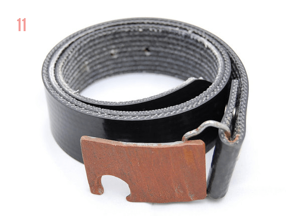 Gifts for the Groom He'll Actually Use (via EmmalineBride.com) - Hammered Steel Bottle Opener Belt Buckle (by Metalogical)