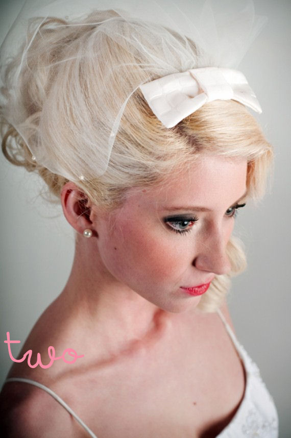 Handmade Bridal Veils - 'The Gidget'