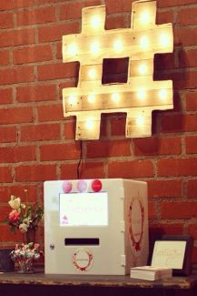 wedding marquee lights