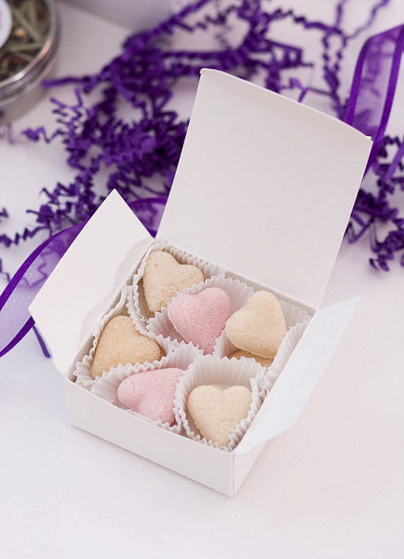 heart shaped sugar cubes