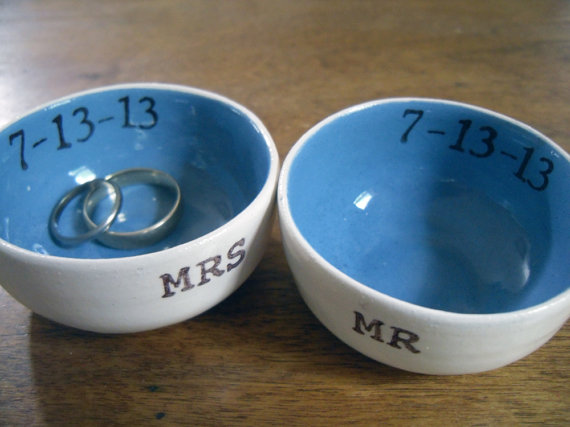 8 Creative Ring Holders (his and hers ring bowls by Elycia Camille)