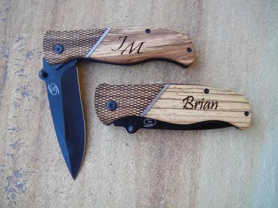 custom groomsmen gift knives - Best Groomsmen Gifts