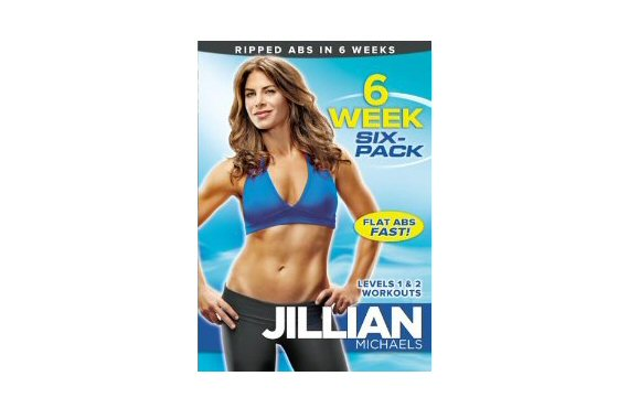 Top 20 Fitness Accessories (via EmmalineBride.com): #18 Jillian Michaels' Six Week Six Pack
