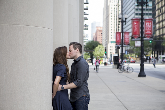 Rebecca Borg Photography - Downtown Chicago Engagement Session