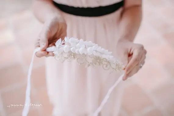 wedding hair crowns + hair wreaths  | acute designs via emmalinebride.com