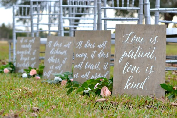 love is patient signs