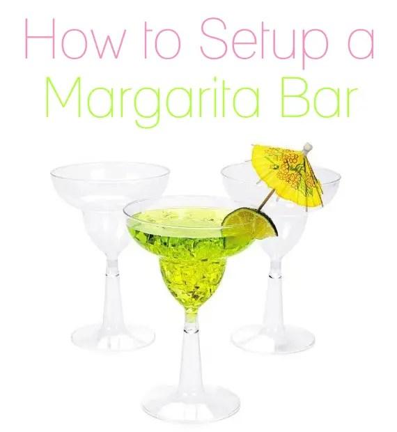 margarita bar wedding