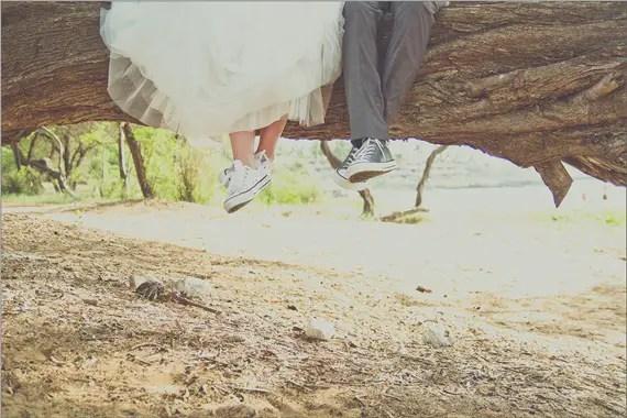 a1c2e75317e2 gt  Wedding Converse Maui a Kicks Bride Foto Emmaline gt  giorno del HIHU4w