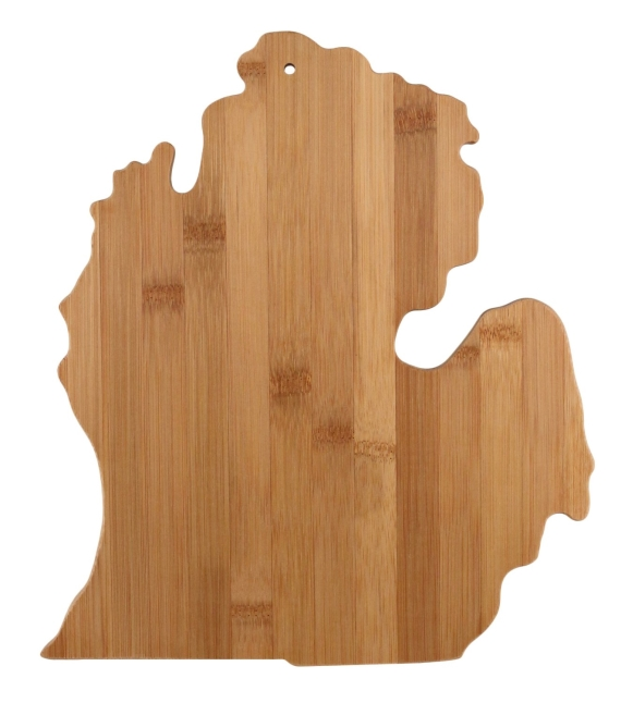 michigan cutting board via 27 Amazing Anniversary Gifts by Year http://emmalinebride.com/gifts/anniversary-gifts-by-year/