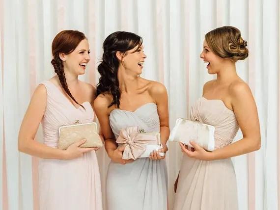 bridesmaid clutches