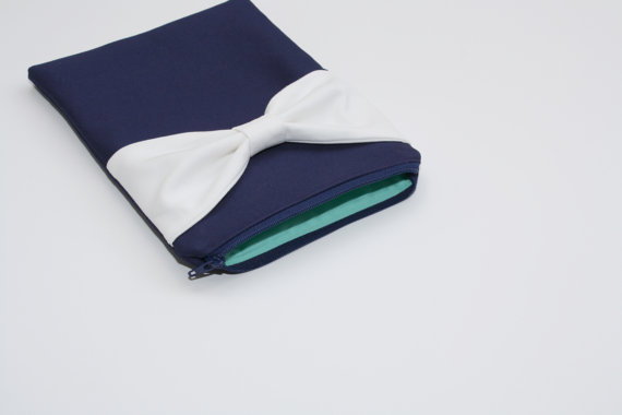 navy and mint nook case