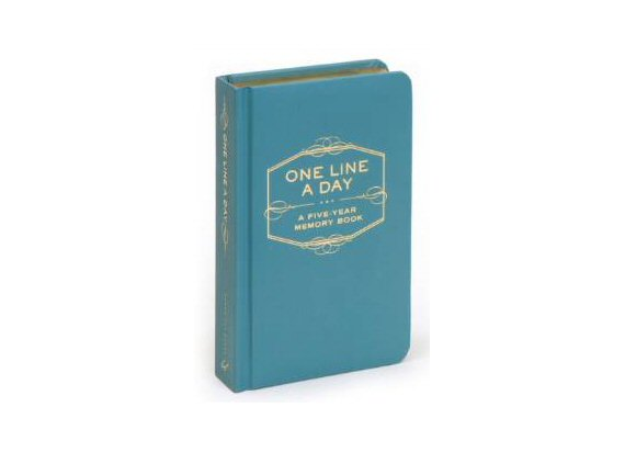 one line a day book anniversary