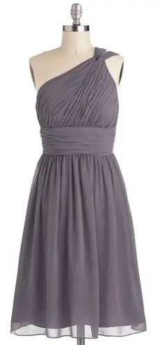 one-shoulder-grey-dress