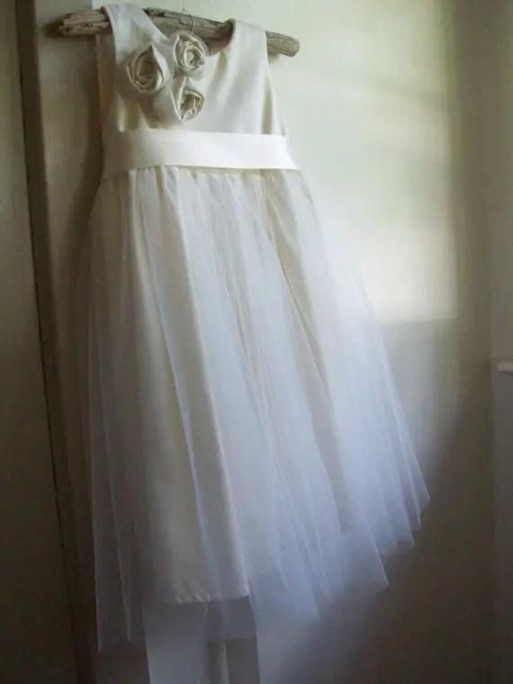 Sateen | Organic Cotton Flower Girl Dresses
