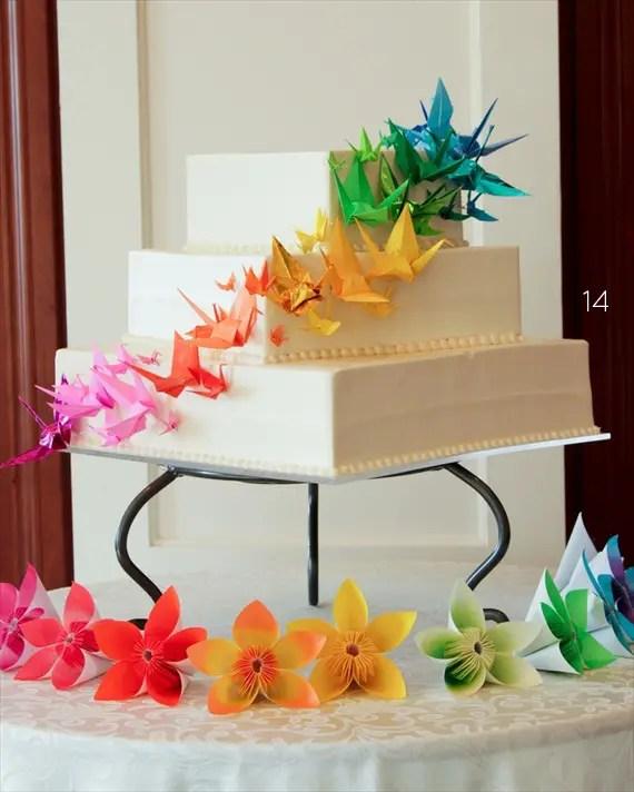 21 Origami Wedding Decoration Ideas - photo#18