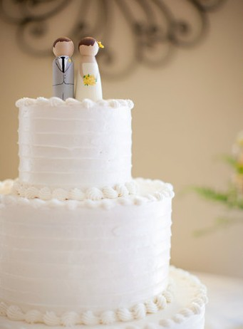 Peg doll wedding cake toppers diy sweepstakes