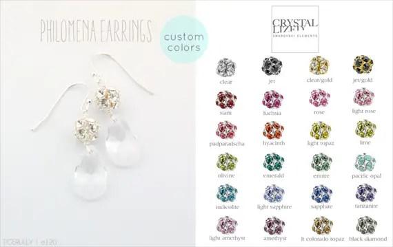 Vintage Drop Earrings (Philomena by Tigerlilly Jewelry) #handmade #wedding #jewelry