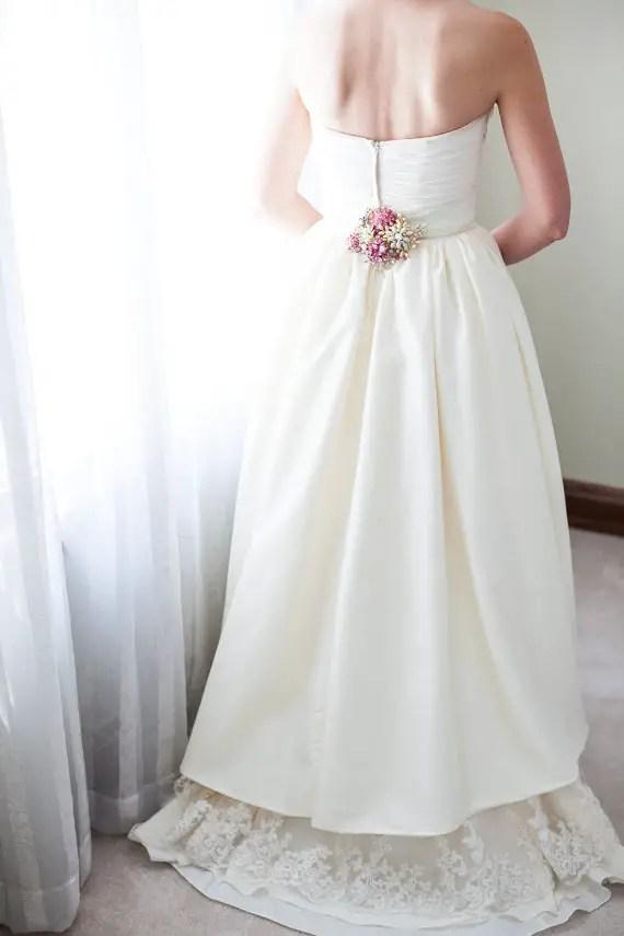 Rhinestone Sash For Wedding Dress 6 Fabulous by the storied sash