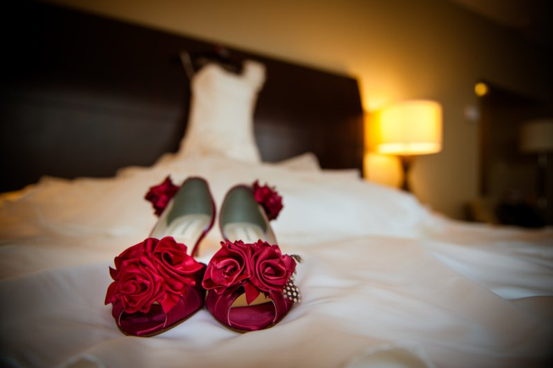 red rose wedding ideas