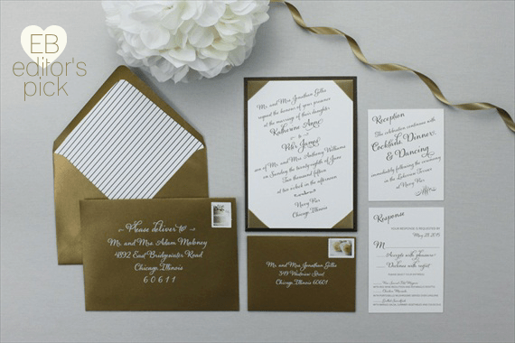 romantic wedding invitations eb editors pick