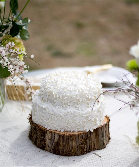 Rustic Wedding Cake Ideas: Rustic Fairytale Wedding