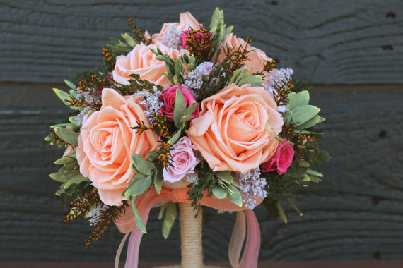 Themed Wedding Bouquets - Shabby Chic