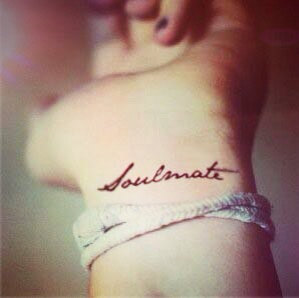 soulmate temporary wedding tattoos