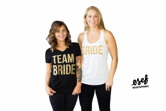 team bride shirts