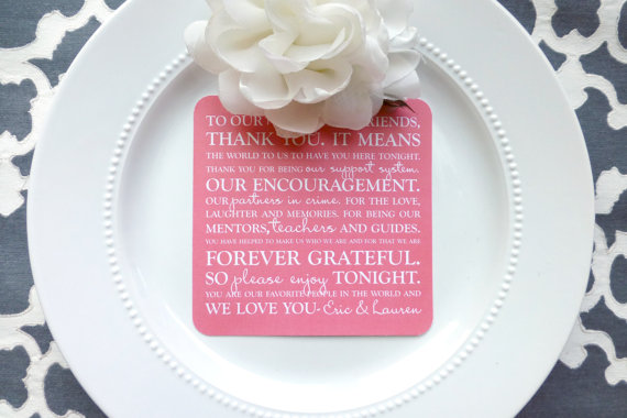 Wedding Invitation Thank You Letter: 7 Ways To Thank Guests At A Wedding
