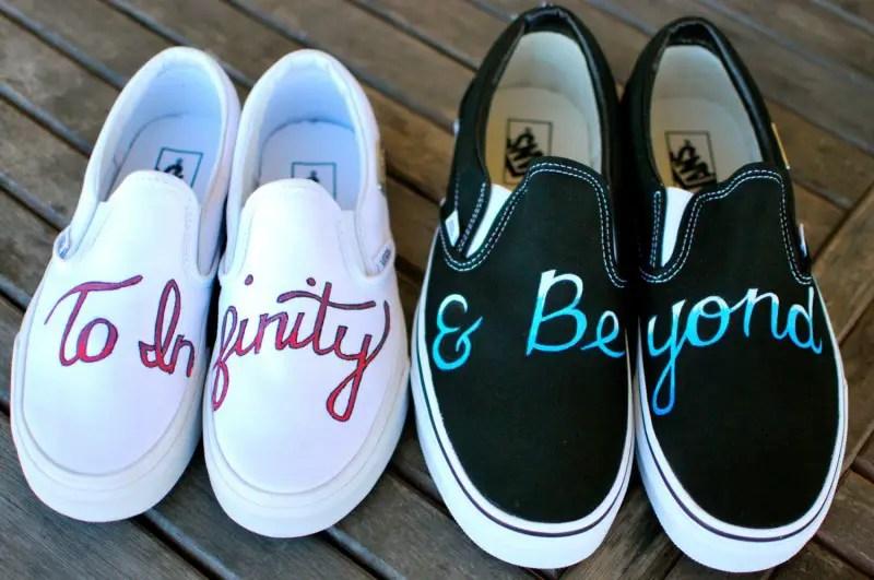 vans wedding shoes   via http://emmalinebride.com/bride/vans-wedding-shoes/