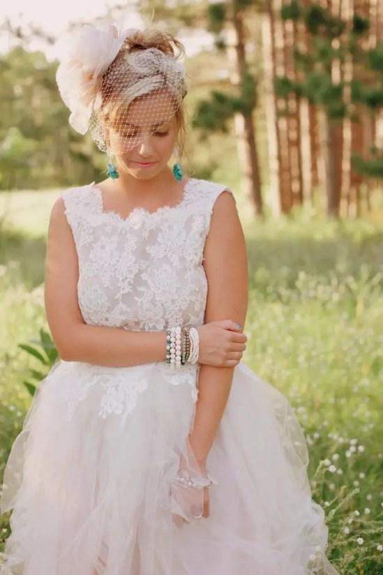 two piece wedding dress by glory by jeannie lee
