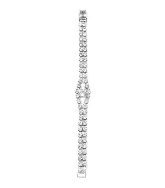 vintage rhinestone bracelet | Vintage Wedding Jewelry (Sweet & Spark)