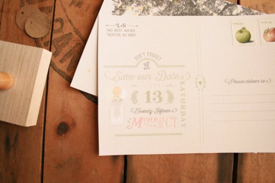 vintage-rustic-save-the-date-postcards