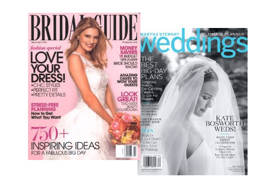 wedding magazines - Gift Ideas for the Bride