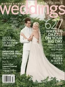 wedding subscription martha stewart weddings - via engaged things to do