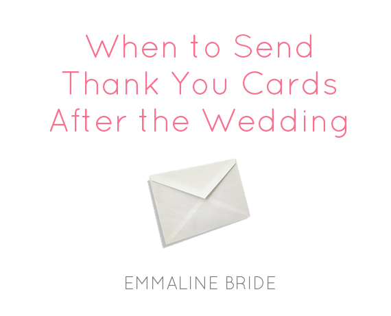 When To Send Thank You Cards