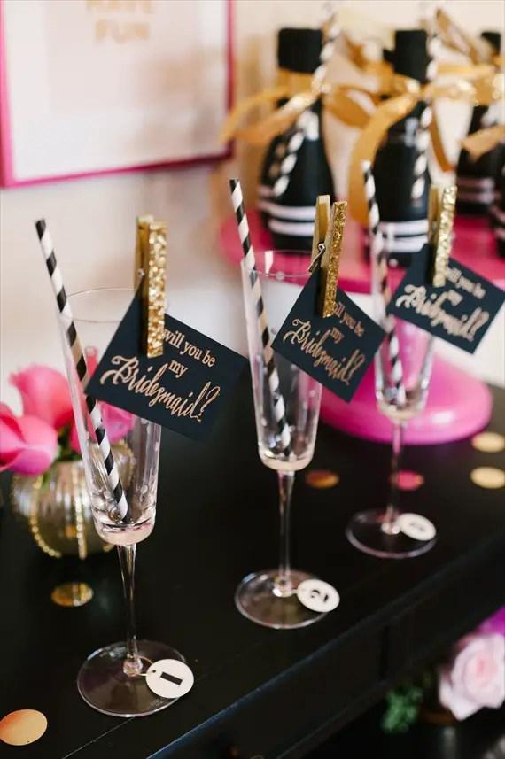 Fun Idea:  Throw a Be My Bridesmaid Party