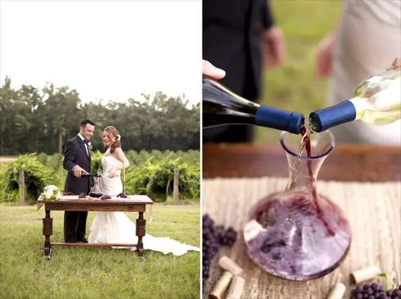 Wine - Unity Ceremony Ideas (photo: sarah lyn)