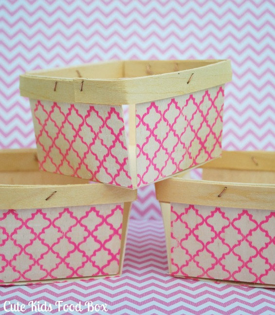 wood berry box wedding favor containers