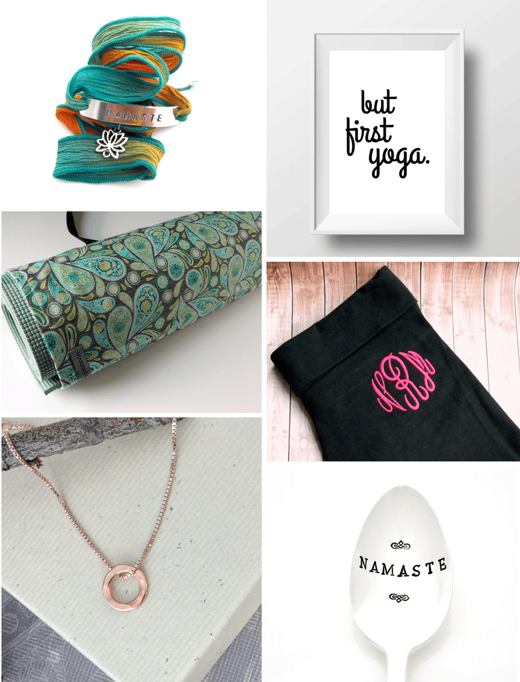 yoga gift ideas bridesmaids