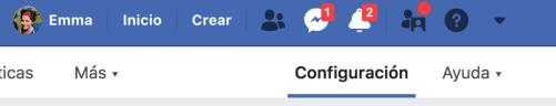 Cómo añadir nuevo rol página Facebook