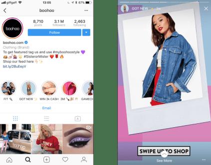 Historias destacadas Instagram