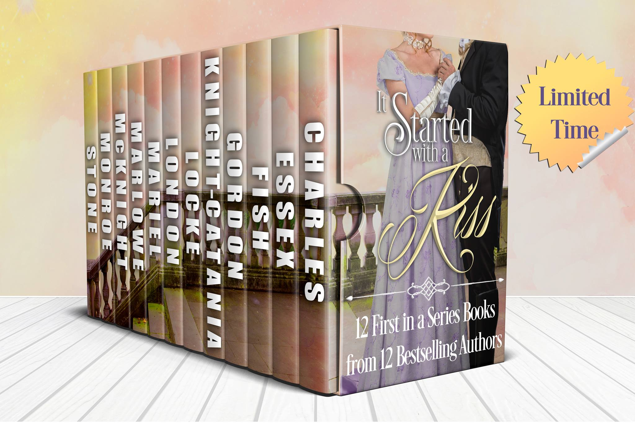 IT STARTED WITH A KISS – Limited Time Box Set!