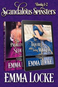 Book Cover: Scandalous Spinsters (Books 1-2) Boxed Set