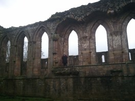 Me on the ruins