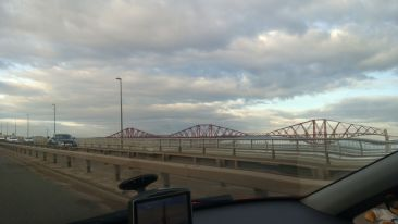 Forth Rail Bridge (as seen from the Forth Road Bridge)