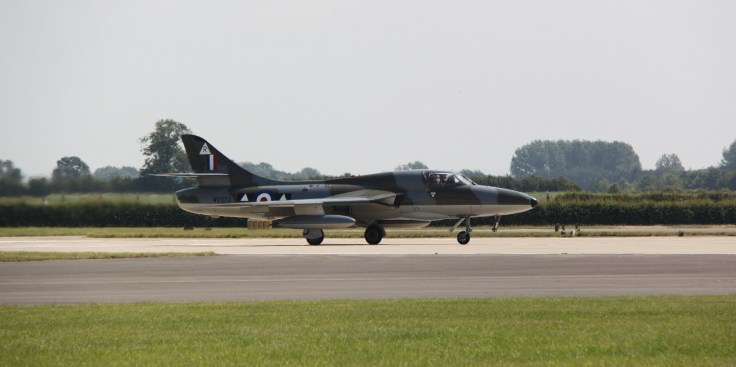 Hunter at Waddington air show 2013