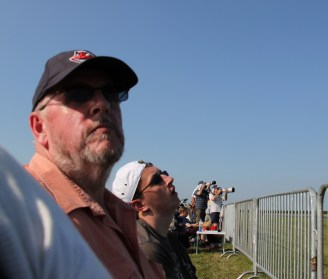 Dad and Frank at Waddington Air Show 2013